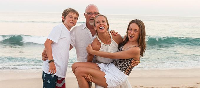 John and Kari Boiler and Family