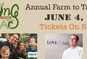 Presale Farm to Table Tickets Available Now