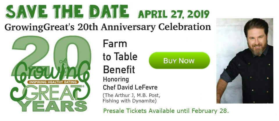 Save The Date - 2019 Farm to Table