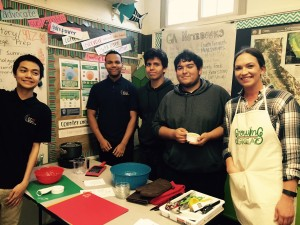 GrowingGreat's First Chef's Lesson