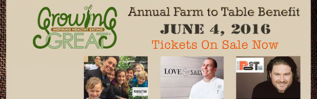 April 15 is the LAST DAY for Presale Farm to Table Tickets
